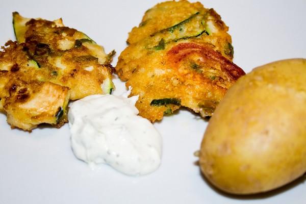 Vegetarisch kochen zucchini tomaten bratlinge robina hood for Kochen zucchini