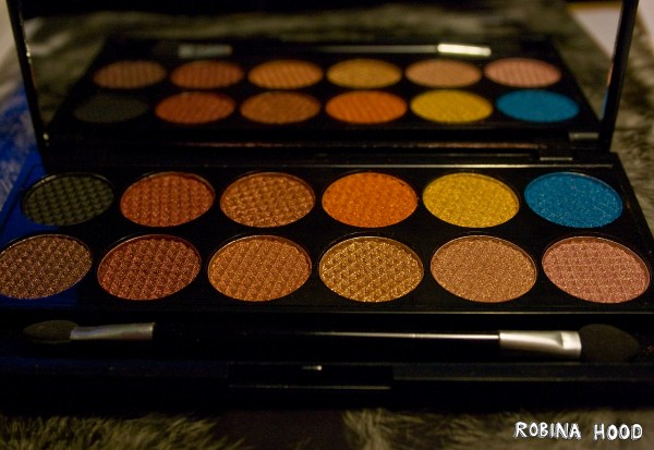 Sleek Sunset Lidschatten-Palette Eyeshadows