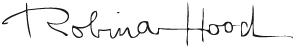 Signatur Robina Hood