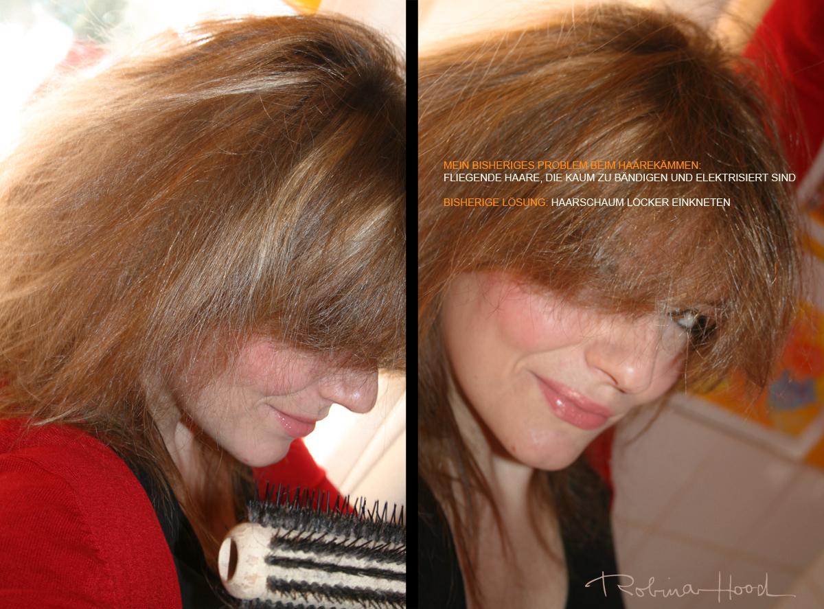 Haare Elektrisieren