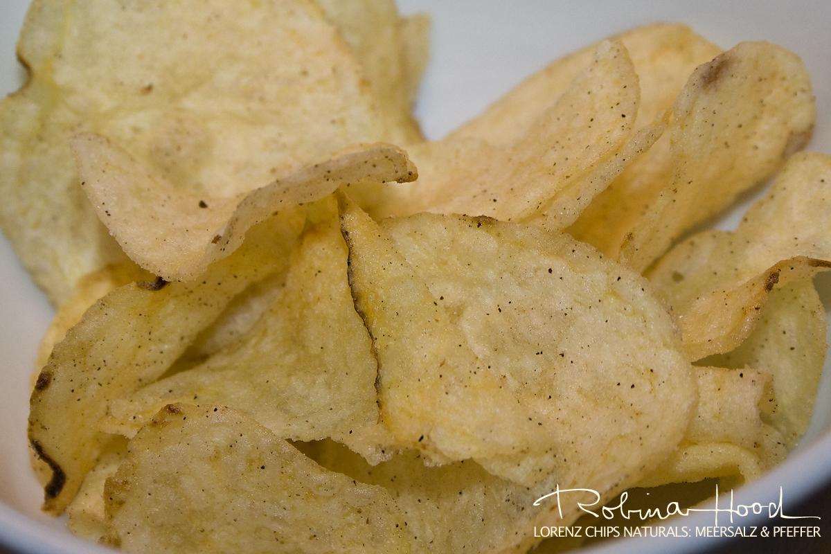 """Lorenz """"Naturals"""" Kartoffelchips mit Meersalz und Pfeffer"""