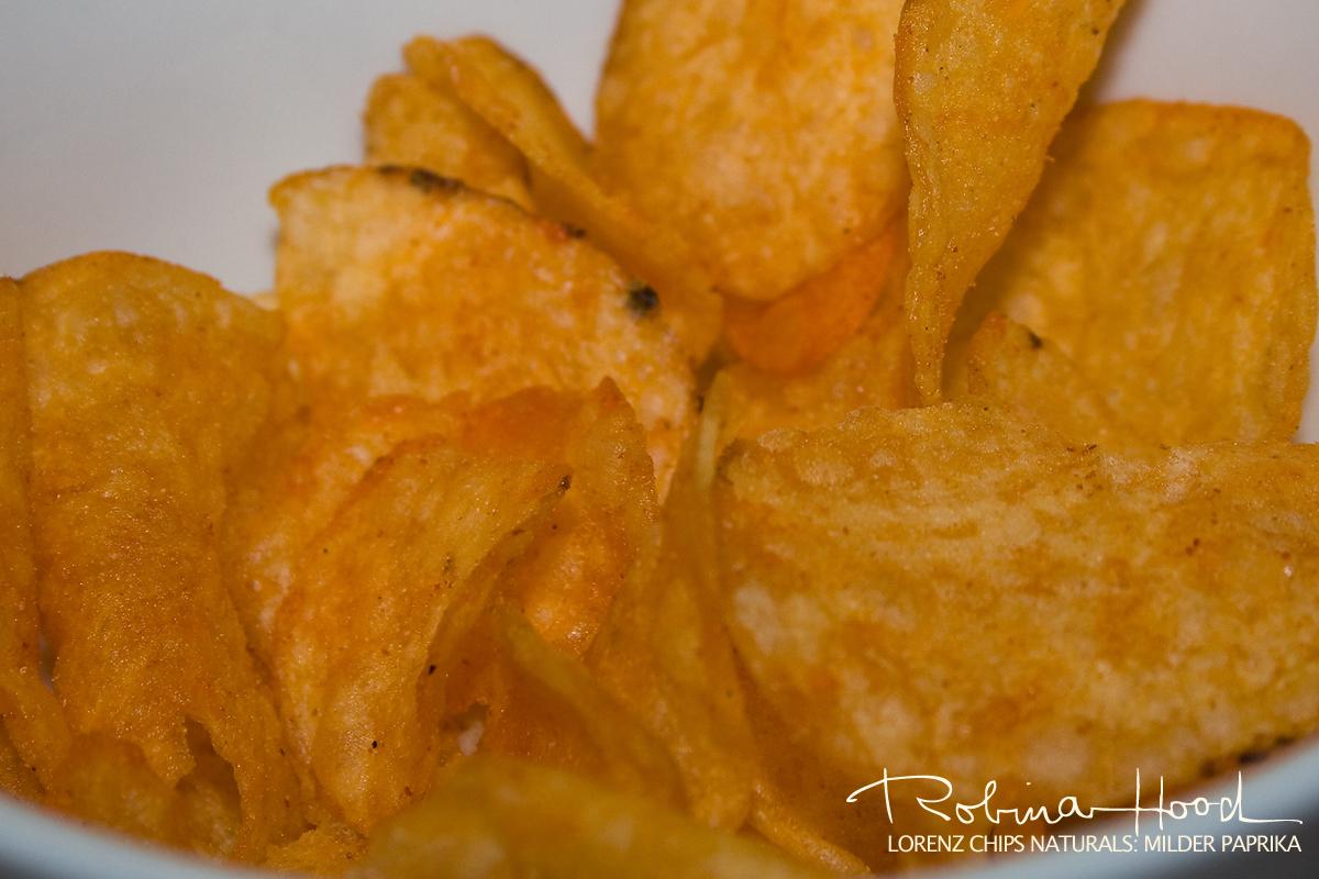 """Lorenz """"Naturals"""" Kartoffelchips mit milder Paprika"""