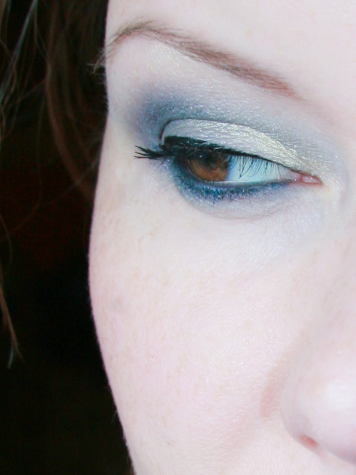 "AMU / Augen-Make-up mit Sleek Lidschatten: ""Storm"" und ""Me, Myself & Eye"""