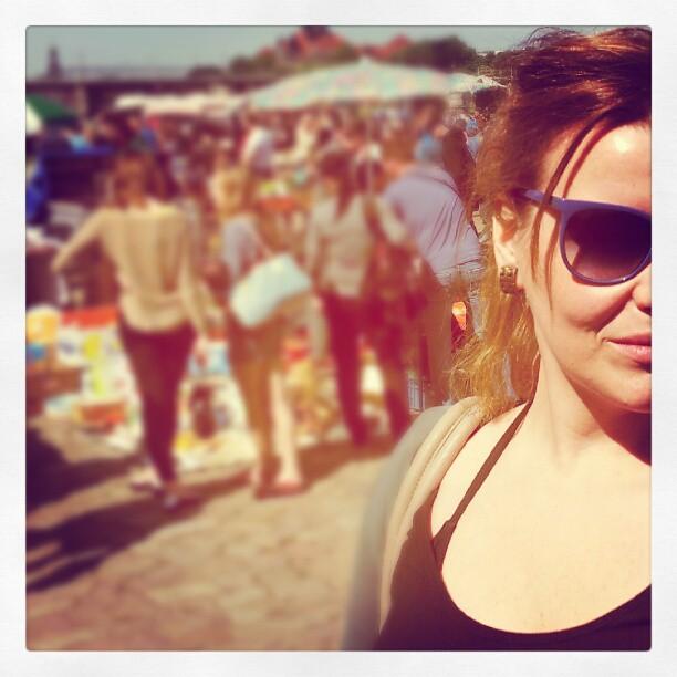 Robina Hood unterwegs: Trödelmarkt/Elbeflohmarkt Dresden an der Albertbrücke 19.05.2012