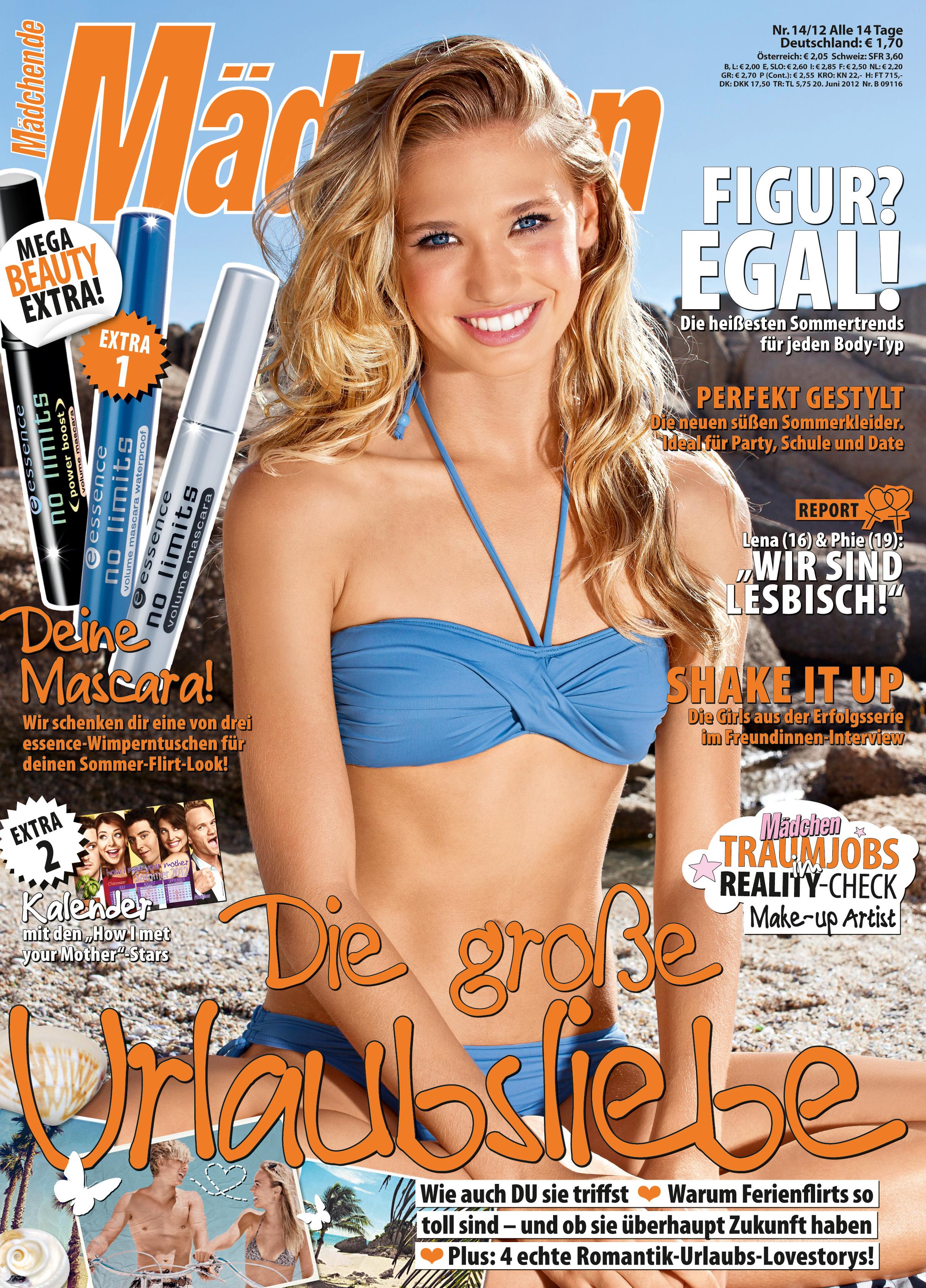 """Zeitschrift """"Mädchen"""": 1,70 € mit Gratisbeigabe """"essence Mascara"""""""