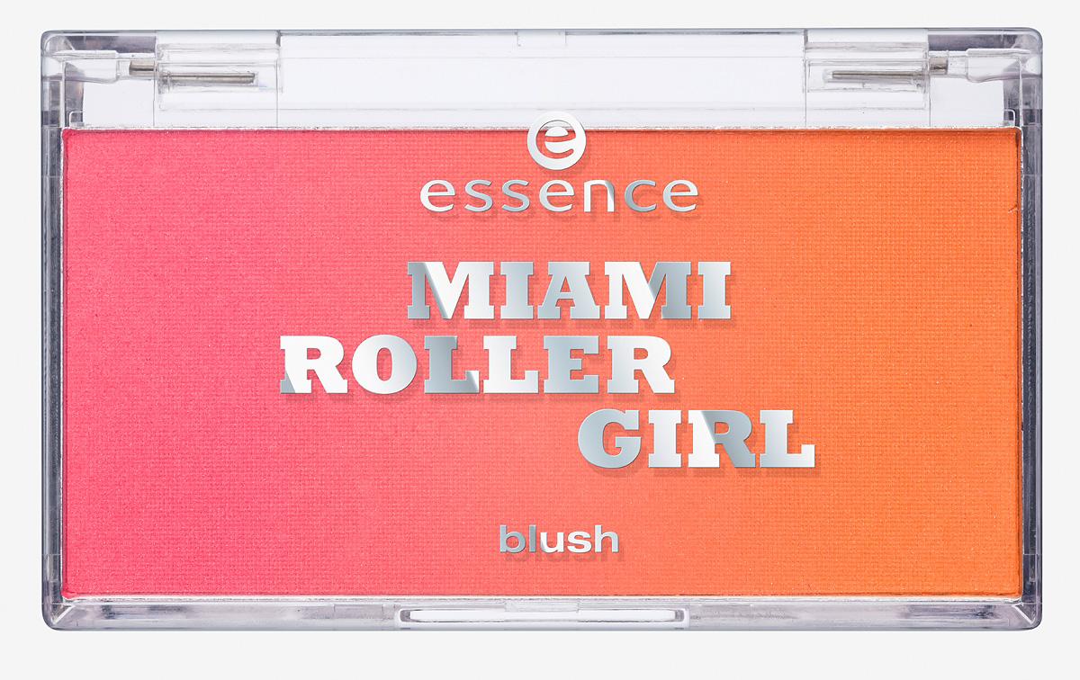 """Produktfoto: essence """"miami roller girl blush"""" in der Farbe 01 dates on skates. Um 2,79 €*."""