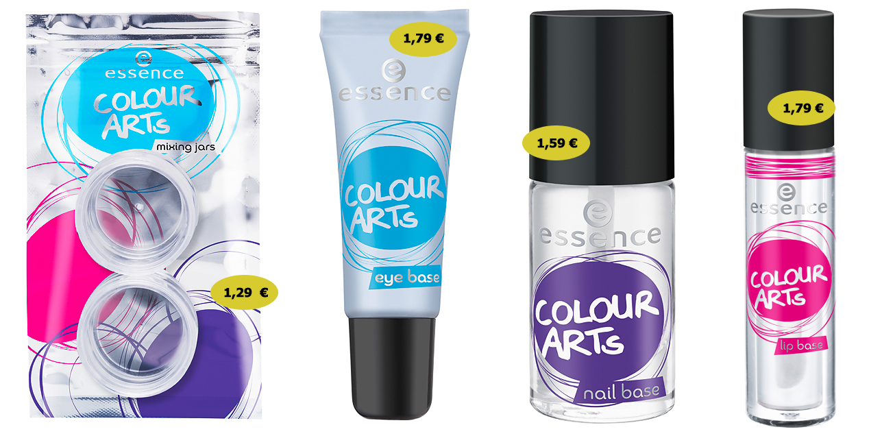 "essence LE ""colour arts"" mixing jars 