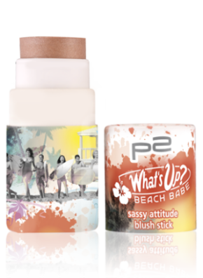 "Limitiert bei dm zu bekommen - p2 ""What's up? Beach Babe""- Kollektion. Hier: sassy attitude blush stick"