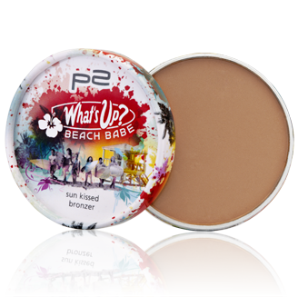 "Limitiert bei dm zu bekommen - p2 ""What's up? Beach Babe""- Kollektion. Hier: sun kissed bronzer in Stick-Form"