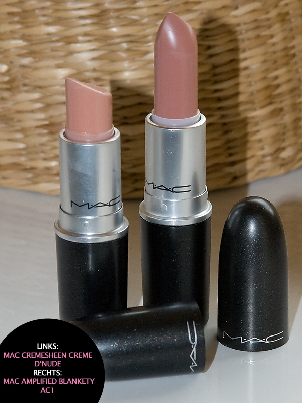 nude lippen mit dem m a c amplified lipstick blankety. Black Bedroom Furniture Sets. Home Design Ideas