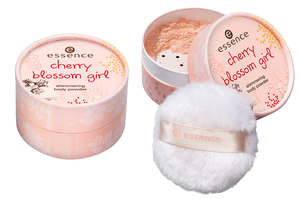 essence cherry blossom girl – shimmering body powder