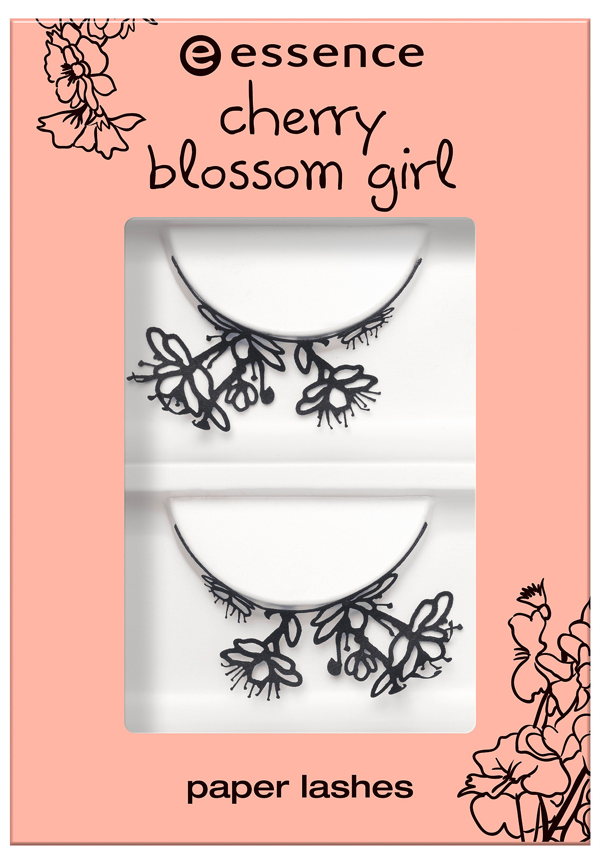 essence cherry blossom girl – paper lashes