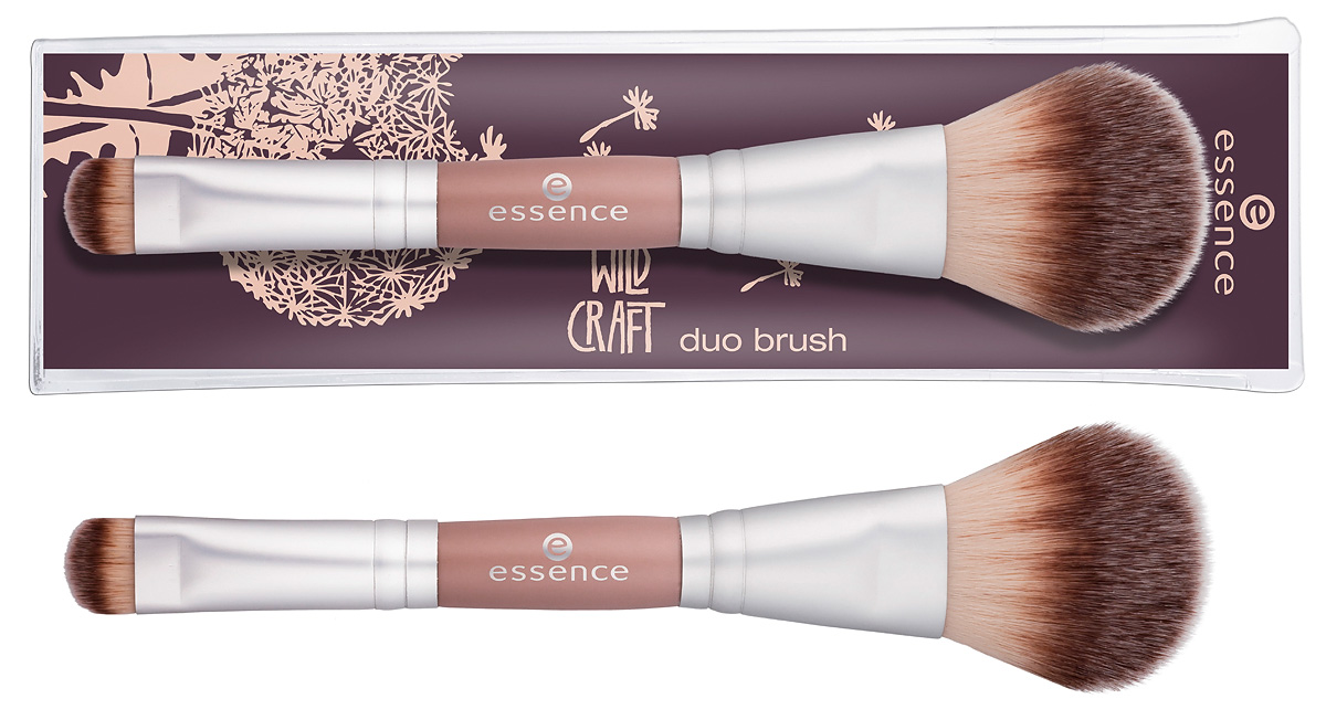 essence wild craft – duo brush
