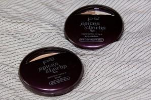 """Limitiert ab August 2012 bei dm zu bekommen: p2 """"spices & herbs"""" Eyeshadow-Duo """"030 cinnamon"""" und Blush """"010 apricot"""