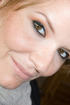 """Limitiert vom 2. August 2012 bis zum 29. August 2012 bei dm zu bekommen: p2 """"spices & herbs"""" Eyeshadow-Duo """"030 cinnamon"""" und Blush """"010 apricot"""