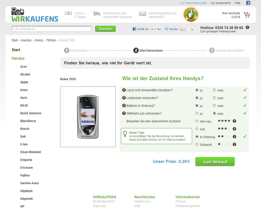 www.wirkaufens.de - Ja, ist klar ... aber ich verkaufe nicht.