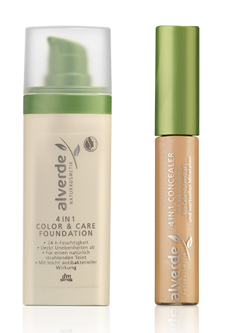 Neu ab September 2012: 4in1 Color & Care Foundation und 4in1 Concealer