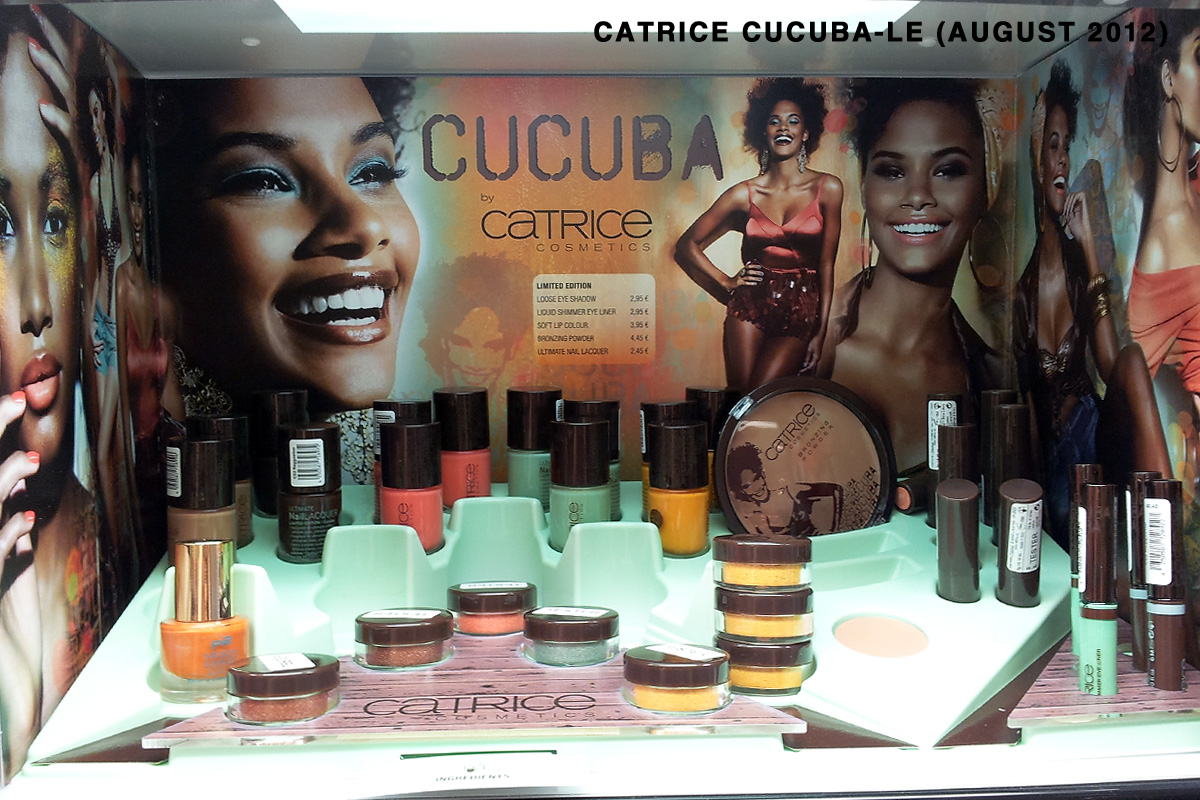 "Aufsteller/Display CATRICE ""CUCUBA""-LE August 2012"