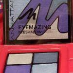 Lidschattenpalette in Blautönen der Manhattan Flitter Belle Limited Edition (Juli 2012)