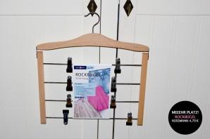 Mein Kauftipp: Rockbügel/Raumsparbügel/Mehrfachkleiderbügel von Rossmann für 4,79 €