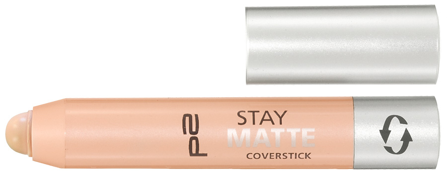 p2 cosmetics perfect Look Herbst 2012 Stay Matte Coverstick