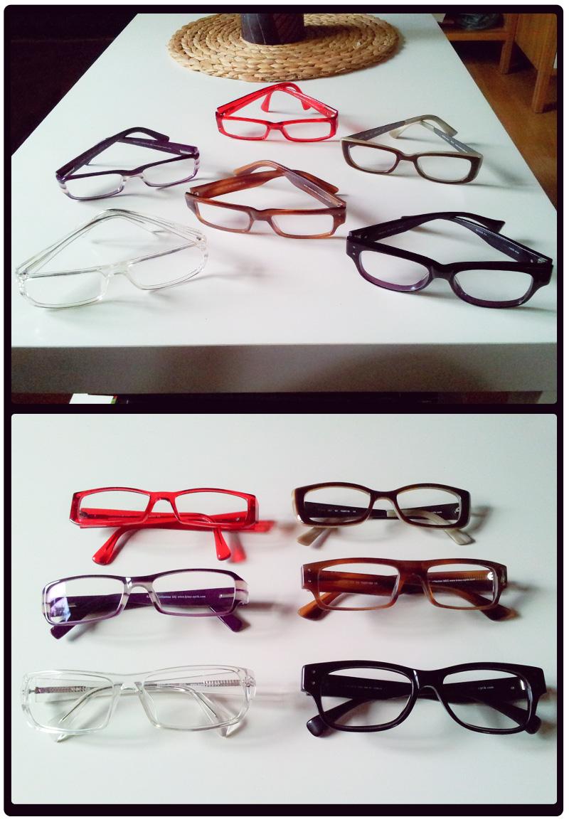 Diese Brillen habe ich bereits in meinem Besitz: alle von KRASS Optik