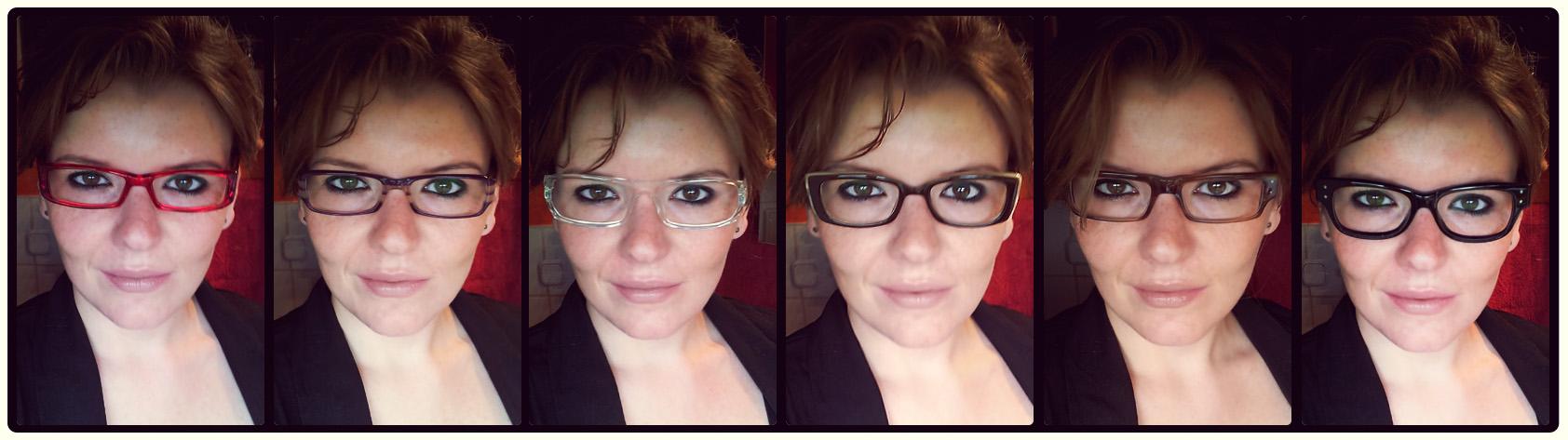 Tragefoto - Brillen aufgesetzt: alle von KRASS Optik