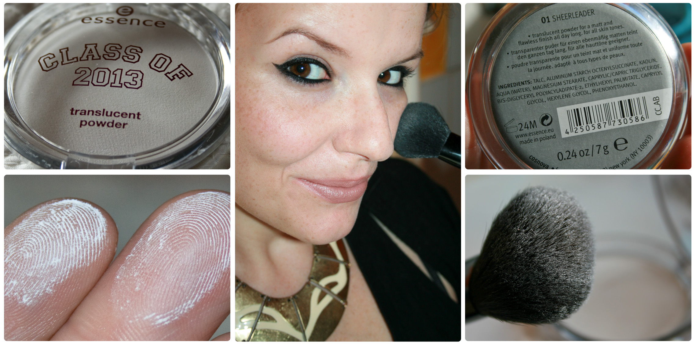 "essence ""CLASS OF 2013"" translucent powder 01 sheerleader - mattierender Puder"