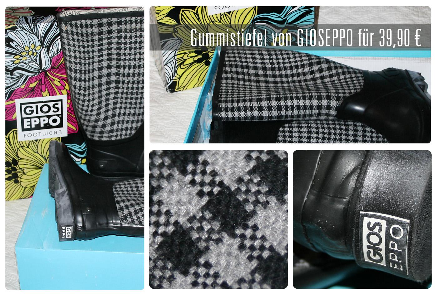 Schicke Gmmistiefel von Gioseppo - robust, stylisch, preiswert