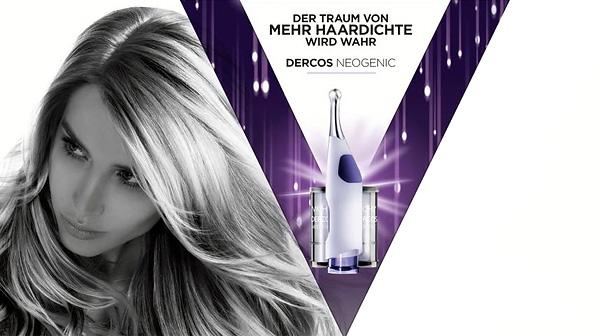 Hilfe gegen Haarausfall und schütteres Haare: VICHY Dercos Neogenic Haarweckungs-Kur
