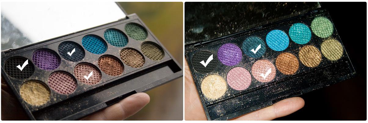 """Augen-make-up/Lidschatten mit der Sleek-Palette """"The Original"""""""