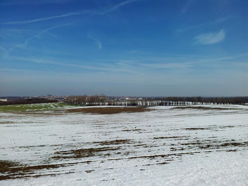 Blick von Singwitz nach Bautzen