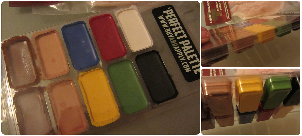 Perfect Palette FX Makeup Paint
