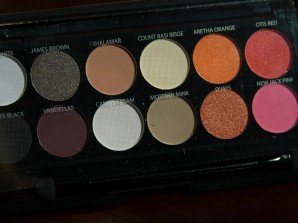 "Sleek-Palette ""RESPECT"" aus der Shangri-la Collection"