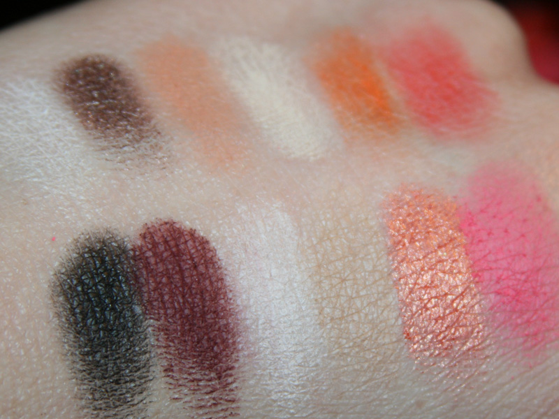 "Swatches der Sleek-Palette ""RESPECT"" aus der Shangri-la Collection"