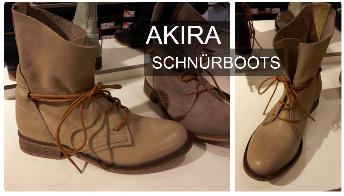 Schnürschuhe, Boots, Stiefeletten von AKIRA