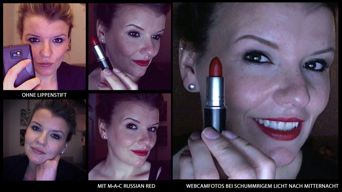 MAC Russian Red Lippenstift rot russischrot
