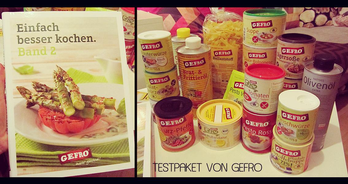 """GEFRO Testpaket + Tomatenmesser + Kochbuch """"Einfach besser kochen Band 2"""""""