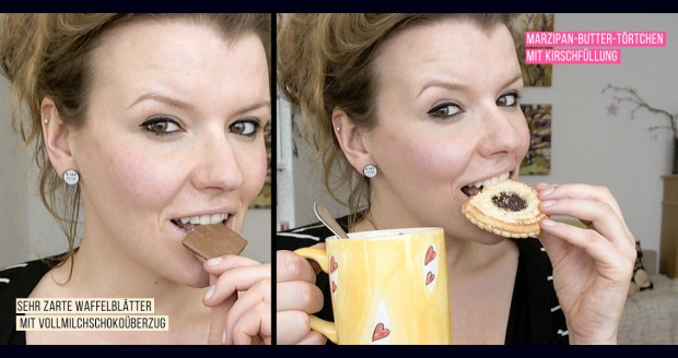 Spezialitäten-Haus Osterpaket Schokolade, Kekse, Törtchen, Pralinen