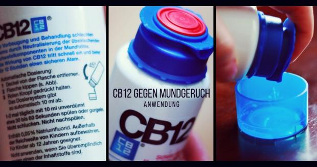 CB12 Mundpflegemittel gegen Mundgeruch/Halitosis Inhaltsstoffe Anwendung Wirkung