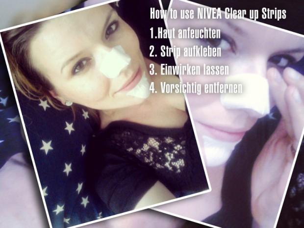 NIVEA Clear-up Strips Mitesser und verstopfte Poren säubern, reinigen, entfernen, ausreinigen