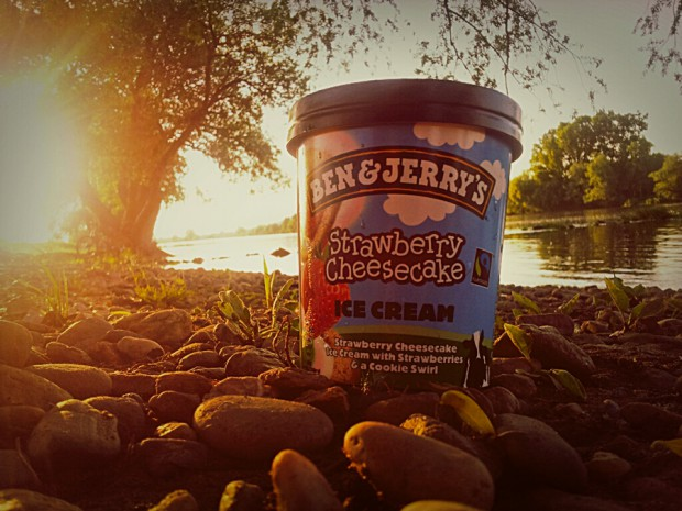 Ben & Jerry's Strawberry Cheesecake - I love it!