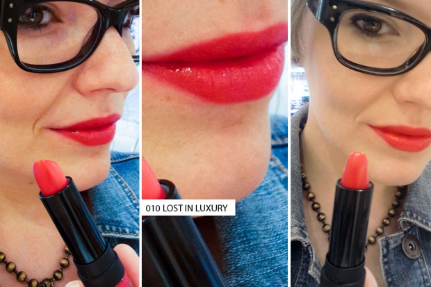"Robina Hood: p2 cosmetics Limited Edition ""Red I love u!"" - Juli 2014 - Lipstick 010 lost in luxury"