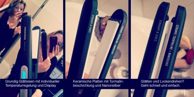 Robina Hood Produkttest: Wer auf der Suche nach einem guten und günstigen Glätteisen ist, das Leistung und perfekt geglättete Haare bietet, sollte ein Auge auf die Premium Line Modell von Grundig werfen: Keramische Platten mit Turmalin und Nanosilber | perfekte Stylingergebnisse, ob Locken oder richtig glattes Haar