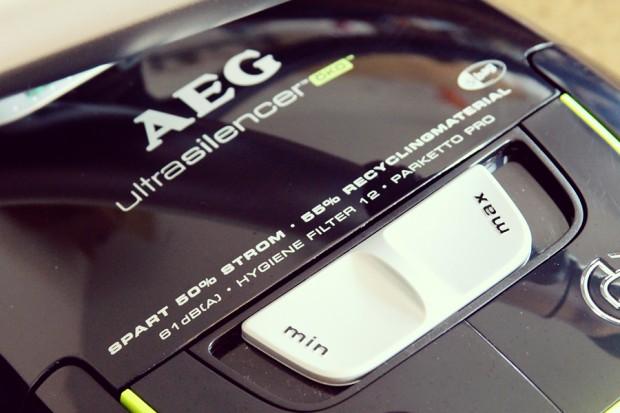 Robina Hood testet: AEG Ultrasilencer Staubsauger Leisestaubsauger Testsieger