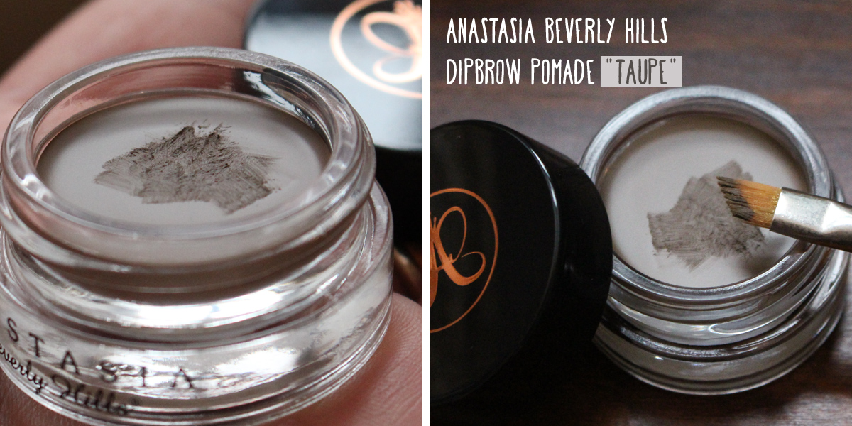 "First Impression Anastasia Beverly Hills Dipbrow Pomade in ""Taupe"""