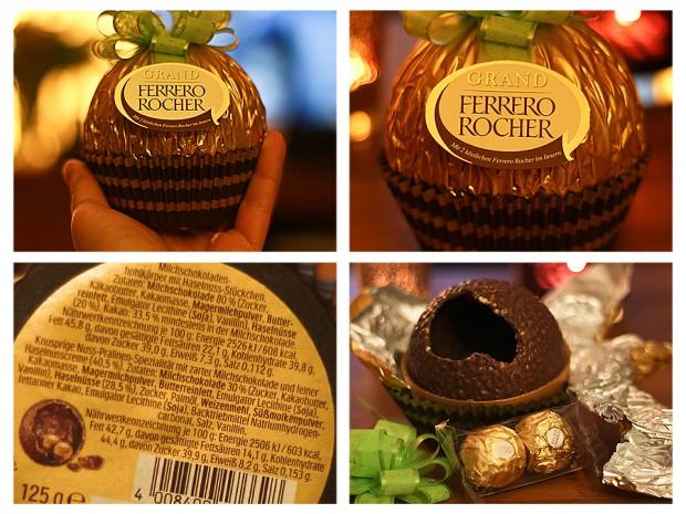Valentinstagsgeschenk: Ferrero Grand Rocher