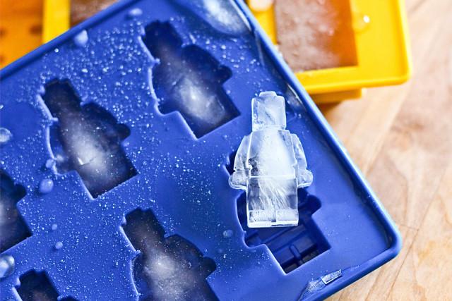 Eiswürfel Eiswürfelform aus Silikon Ice cube Lego