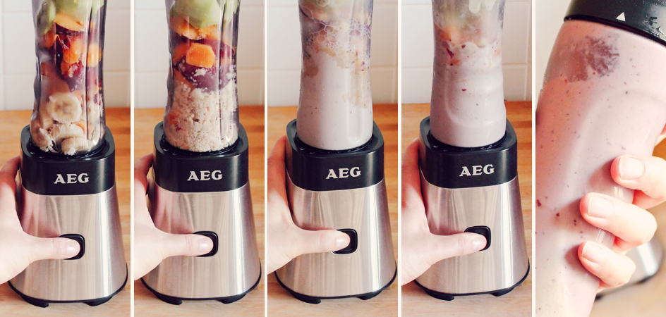 Nicecream mit dem AEG PerfectMix SB 2400 Mini Mixer