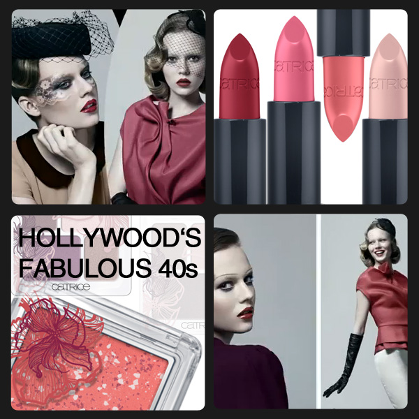 Hollywood's FABULOUS 40s by CATRICE - limited Edition im September und Oktober 2012